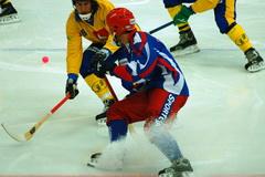 Благотворительный хоккейный матч прошел в Ледовом дворце Ленинска-Кузнецкого