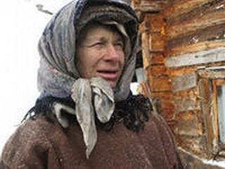 Губернатор Аман Тулеев передал таежной отшельнице Агафье Лыковой молочную козу