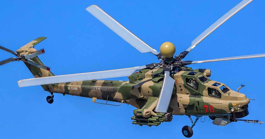 Российская армия получила самый передовой ударный вертолет семейства Ми-28 | Кузбасский Информационный Портал